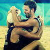 sasha_feather: German volleyballers hugging, totally hot (slash dudes)