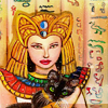 lavendertook: (siamese and egyptian lady)
