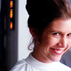 suzelle: (Happy Leia)