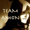 dhobikikutti: Masked face of Amon from Legend of Korra with text 'Team Amon' (korra)