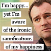 sasha_feather: rodney mckay from stargate: atlantis, who is ironically happy (ironically happy)