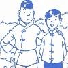 stariceling: Tintin and Chang (Tintin)
