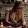 lavendertook: (Gabrielle writing)