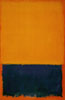 the_water_clock: abstract painting (Yellow and Blue 1955)