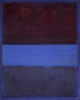 the_water_clock: abstract painting (No. 61 (Rust and Blue) 1953)