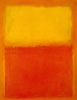 the_water_clock: abstract painting (Orange and Yellow 1956)