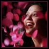 thedivinegoat: Amita from Numb3rs laughing through rose petals. No text (Numb3rs - Amita Roses)
