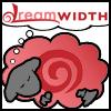 adair: dreamsheep with red swirl (swirl)