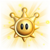 solcita: The sun/star icon from Super Mario Sunshine (Mario Sunshine)