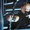 lilyleia78: Hawkeye holding an arrow ready to fire (Avengers: Hawkeye)