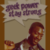 ladyoflorien: stay strong baby (Geeky: Leverage - Hardison has Geek Powe)