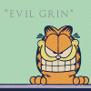 ladyoflorien: I solemnly swear I'm up to no good (Evil: Garfield - Evil Grin)
