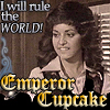 viedma: I will rule the world! Emperor Cupcake! (chia estevez)