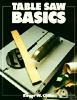 "tablesaw: ""Tablesaw Basics"" (Manual)"