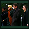 thedivinegoat: Picture: Esposito, Beckett, Castle and Ryan walking in line. No text (Castle - Powerwalk)