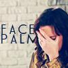 chibichan: → blair waldorf (gossip girl » facepalm of doom)
