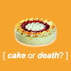 rigel: (cake or death)