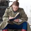 spatz: Steve bent over a notebook, sketching (Steve drawing)