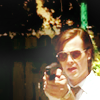 the_gubette: ([Criminal Minds] Reid sunglasses and gun)