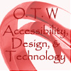 "samvara: OTW logo with text ""Accessiblity, Des (OTW - AD&T)"