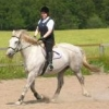 jennyaxe: This is me riding a white steed (skutt)