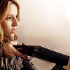 shanaqui: Jo from Supernatural, with a gun. ((Jo) Careful now)