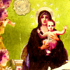 bossymarmalade: mary and christ child (thou too our queen)