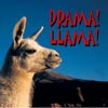 queenbarwench: Picture of llama with words 'drama llama' (drama llama)