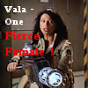 thothmes: Vala with a HUGE space gun, Legend: Vala - One fierce female (Vala - One Fierce Female)