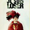 """veleda_k: Merlin from BBC Merlin. Text says, """"Je suis loser."""" (Merlin BBC- Je Suis Loser)"""