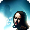 quinara: Heads Will Roll: Whiskey from Dollhouse in blue light (Whiskey blue)
