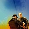 sasha_feather: McKay and Sheppard from Stargate: Atlantis (blue Mcshep)
