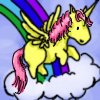mannadon: (Pony- Rainbow Unicorn Pegasus)
