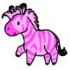 mannadon: (Zebra- Pink)