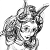 genello: (doodle, feferi, homestuck, pen)