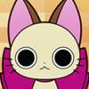 bigpinkribbon: (serious kitty!)