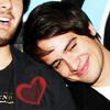 bea: (Brendon on Spencer's shoulder)