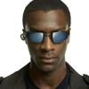 sasha_feather: aldis hodge wearing shades (aldis hodge in the matrix)
