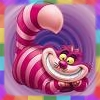 rainbow: picture of the Walt Disney Cheshire Cat (all mad here)