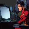 drake_harper: Tim sitting at the computers (whiz kid Robin)