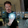 spatz: Tony manipulating Tesseract hologram (Tony cube hologram)