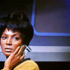 cesare: Uhura (trek - uhura - listening)