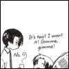 kaigou: Tea! I want tea! Gimme tea! (2 gimme tea!)