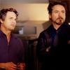 bethbethbeth: Bruce Banner and Tony Stark (Avengers Bruce Tony (bleeding_muse)
