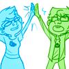 hoperaider: ([Jane] HIGH FIVE BROSIS)