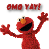 fiercy: (elmo - omg yay!)