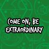 bookwormvicky: (Be extraordinary.)