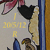 liv: Detail of quirky animals including a sheep, from an illuminated border (marriage)