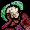 ananzi: (stained glass)