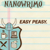 sofiaviolet: NaNoWriMo - easy peasy (nano: no plot)